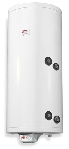 Снимка на Бойлер Eldom 100л. 3 kW вертикален, ниска дясна серпентина, емайлиран WV10046SR