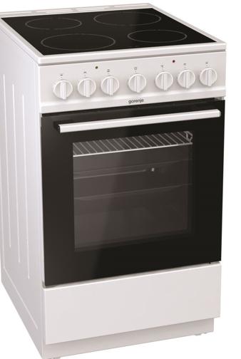 Снимка на Стъклокерамична готварска печка Gorenje EC5241WG + 5 години гаранция
