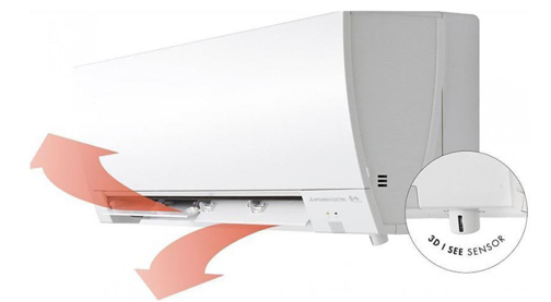 Снимка на Инверторен климатик Mitsubishi Electric MSZ-FH50VE/MUZ-FH50VE