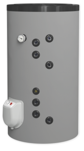 Снимка на Бойлер Eldom 200 л. 3kW стоящ, две паралелни серпентини, емайлиран FV20067S21 (FV20060S21)