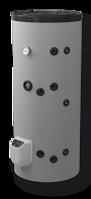 Снимка на Бойлер Eldom 200 л. 3kW, стоящ, серпентинa, електронно управление, неръждаем FV20060ISE (FV20067ISE)