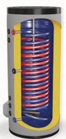 Снимка на Бойлер Eldom 300 л. 9kW, стоящ, две серпентини паралелни, емайлиран FV30067S21