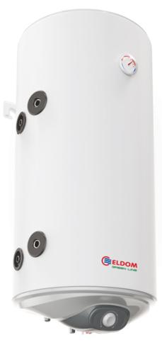Снимка на Бойлер Eldom 100л. 3 kW вертикален, долна лява серпентина, неръждаем WV10046ISL
