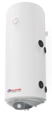 Снимка на Бойлер Eldom 120л. 3 kW вертикален, дясна серпентина, емайлиран WV12046SR