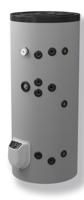 Снимка на Бойлер Eldom 200 л. 3kW стоящ, две серпентини, електронно управление, емайлиран FV20067S2E (FV20060S2E)