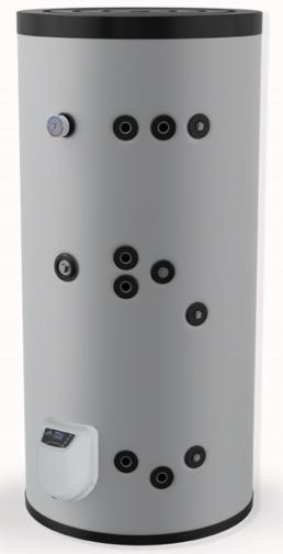 Снимка на Бойлер Eldom 500 л. 9kW, стоящ, две серпентини, електронно управление, емайлиран FV50085S2E