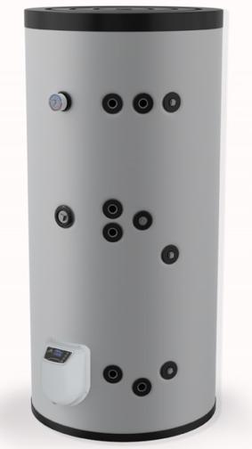 Снимка на Бойлер Eldom 500 л. 9kW, стоящ, две серпентини, електронно управление, неръждаем FV50085IS2E