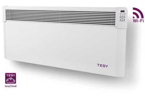 Снимка на Конвектор ConvEco Cloud  с управление през Интернет TESY CN04 250 EIS CLOUD W