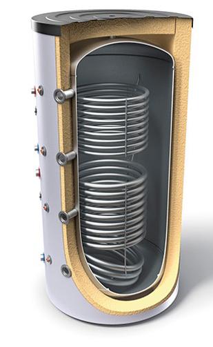Снимка на Буферни съдове за отоплителни инсталации с два топлообменника TESY V11/5S240075F42P6