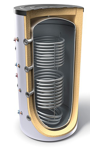 Снимка на Буферни съдове за отоплителни инсталации с два топлообменника Tesy V 12/9 S2 800 95 F43 P6 C