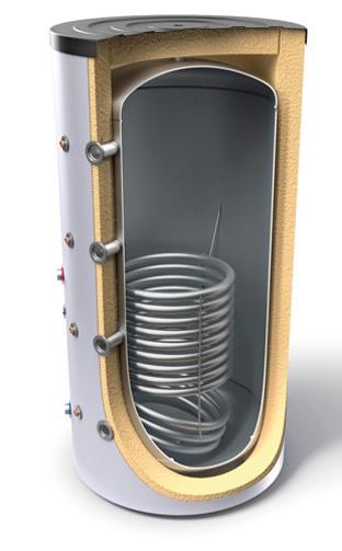 Снимка на Буферни съдове за отоплителни инсталации с топлообменник Tesy V 12S 800 95 F43 P5 C
