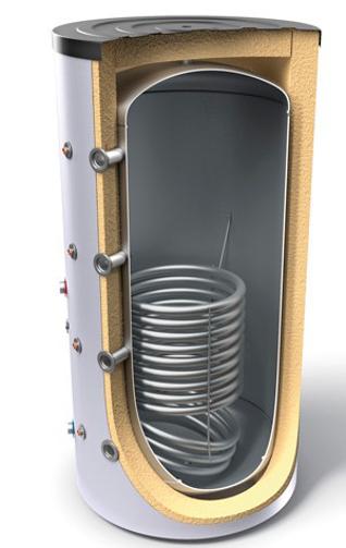 Снимка на Буферни съдове за отоплителни инсталации с топлообменник Tesy V 12S 1500 120 F45 P5 C