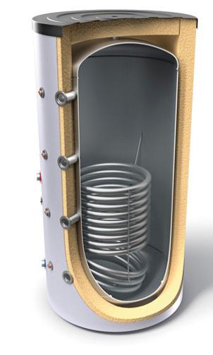 Снимка на Буферни съдове за отоплителни инсталации с топлообменник Tesy V 15S 2000 130 F46 P5 C