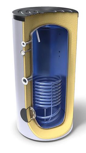 Снимка на Високообемни бойлери за битова гореща вода,  енергиен клас А с топлообменник Tesy EV 9 S 200 65 A