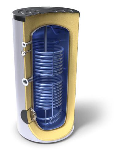 Снимка на Високообемни бойлери за битова гореща вода,енергиен клас А с два топлообменника Tesy EV 7/5 S2 200 65 A