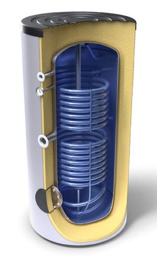 Снимка на Високообемни бойлери за битова гореща вода,енергиен клас А с два топлообменника Tesy EV 10/7 S2 300 75 A