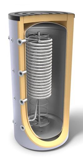 Снимка на Комбинирани високообемни бойлери за отоплителни системи и битова гореща вода с хигиенна серпентина Tesy V 800 95 HYG 5.5 C