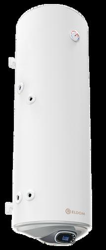 Снимка на Бойлер Eldom 150 л. 3kW  вертикален, лява серпентина, електронно управление, емайлиран WV15046SLE
