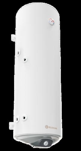 Снимка на Бойлер Eldom 150 л. 3kW  вертикален, с ниска лява серпентина, емайлиран WV15046SL