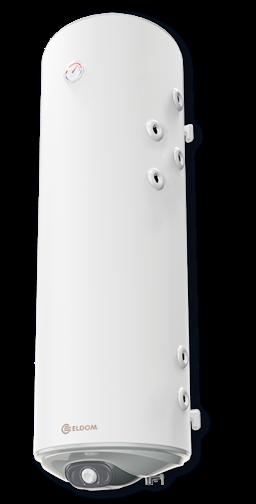 Снимка на Бойлер Eldom 150л. 3 kW вертикален, две десни паралелни серпентини, емайлиран WV15046S21R