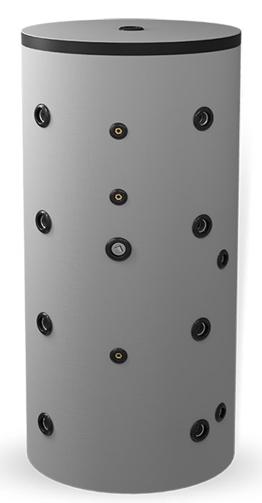 Снимка на Буферен съд 500л, една серпентина, неемайлиран ЕлдомBCS 500K80