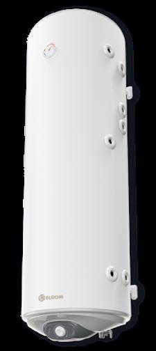 Снимка на Бойлер Eldom 150 л. 3kW  вертикален, с две десни серпентини, емайлиран WV15046S2R
