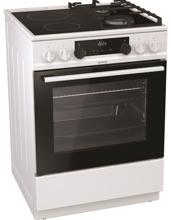 Снимка на Комбинирана готварска печка Gorenje KC6355WT