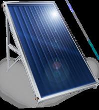 Снимка на Слънчев колектор плосък, с алуминиев оребрен абсорбер, 2,5 кв. м