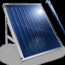 Снимка на Слънчев колектор плосък, с алуминиев оребрен абсорбер, 1.5 кв.м